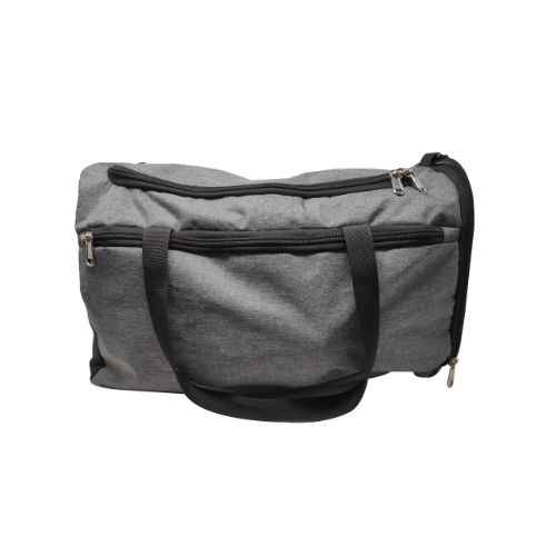 Duffle Bag Cum Sling Bag- Grey