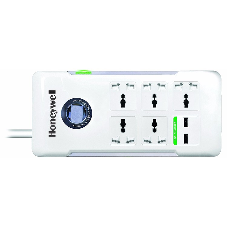 Honeywell Platinum 5 Port Surge Protector