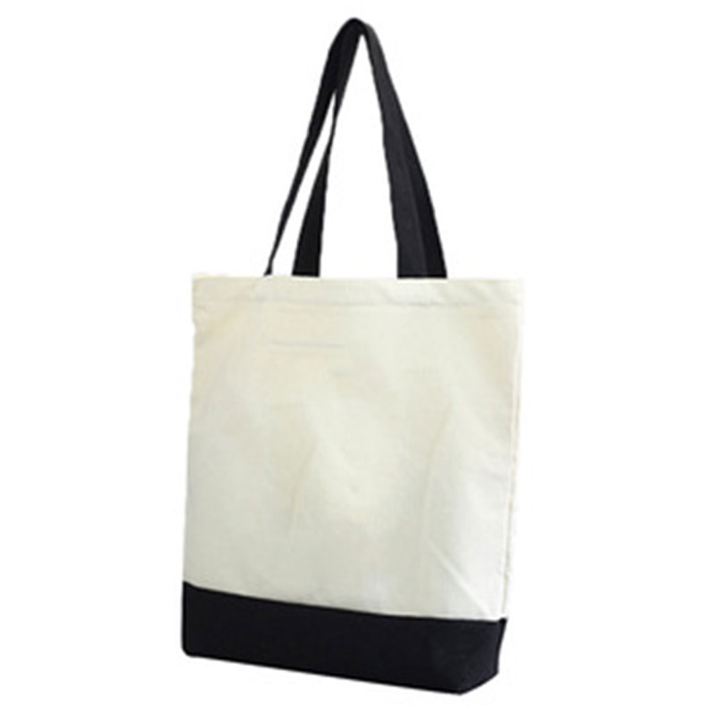 Black Handle Canvas Bag