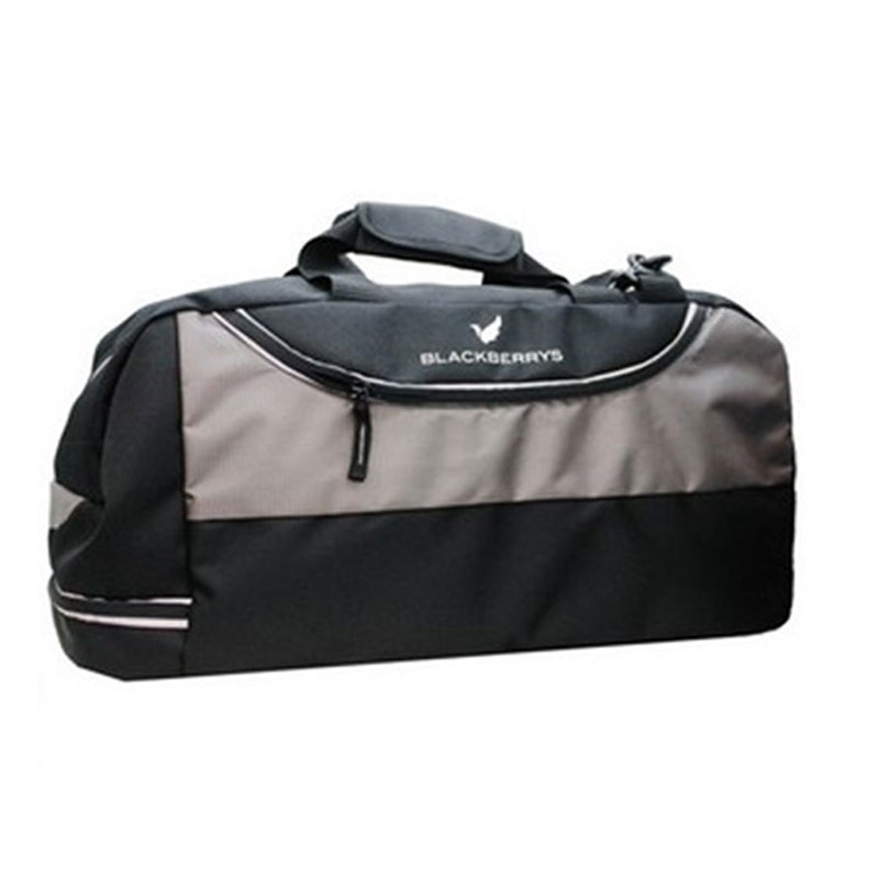 Blackberry Travel Bag With Shoe Pocket