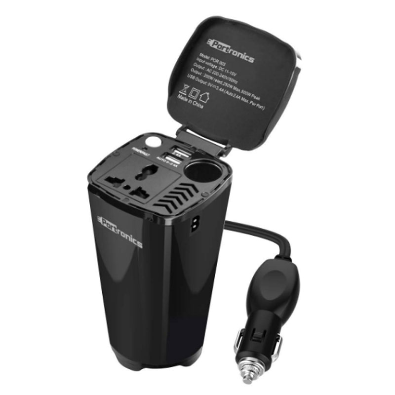 Portronics CarPower Charger