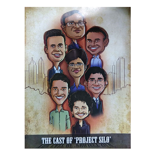 Customised Caricature Photo Frame