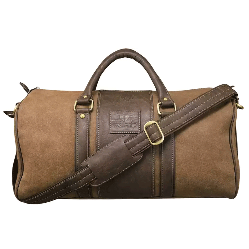 Synthetic Men Duffle Bag  (Brown)
