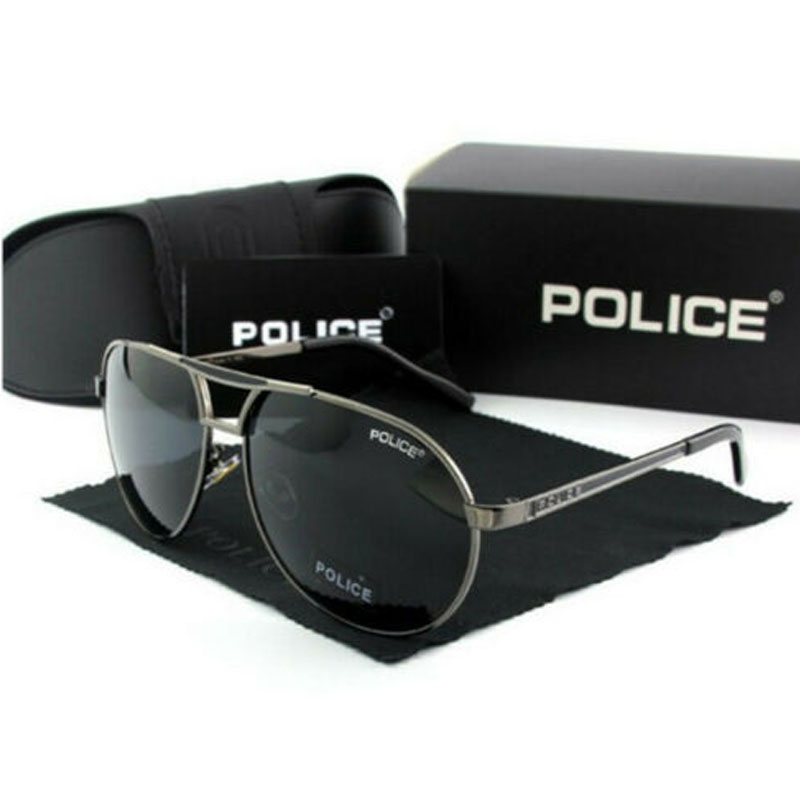 Police Men's Polarized UV400 Sunglass
