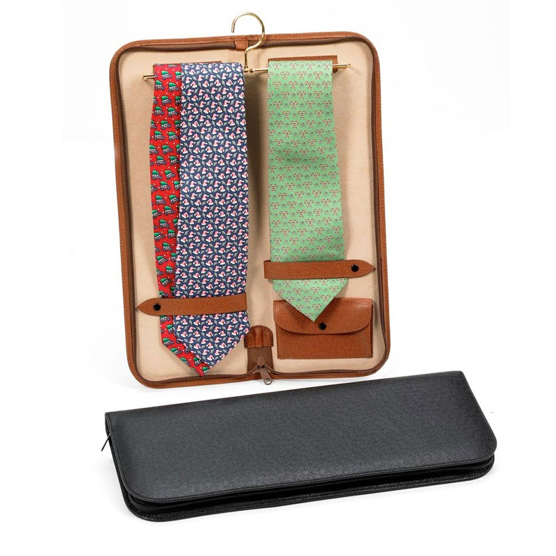 Leather Tie Case