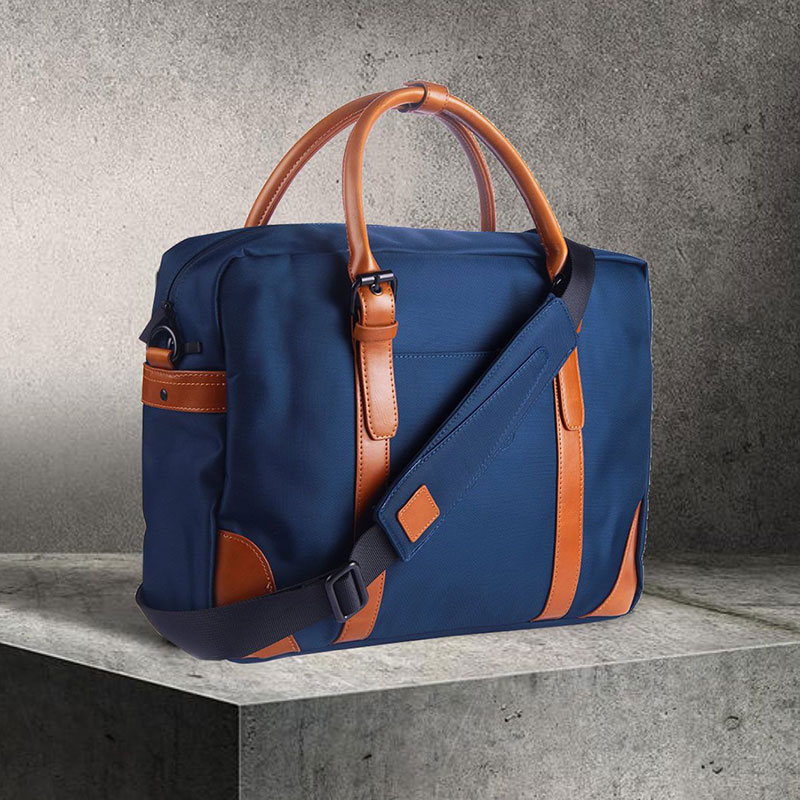 The Classic Navy Blue Messenger Bag