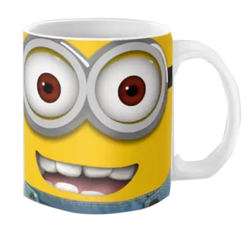 Lovely Minion Face Ceramic Mugs
