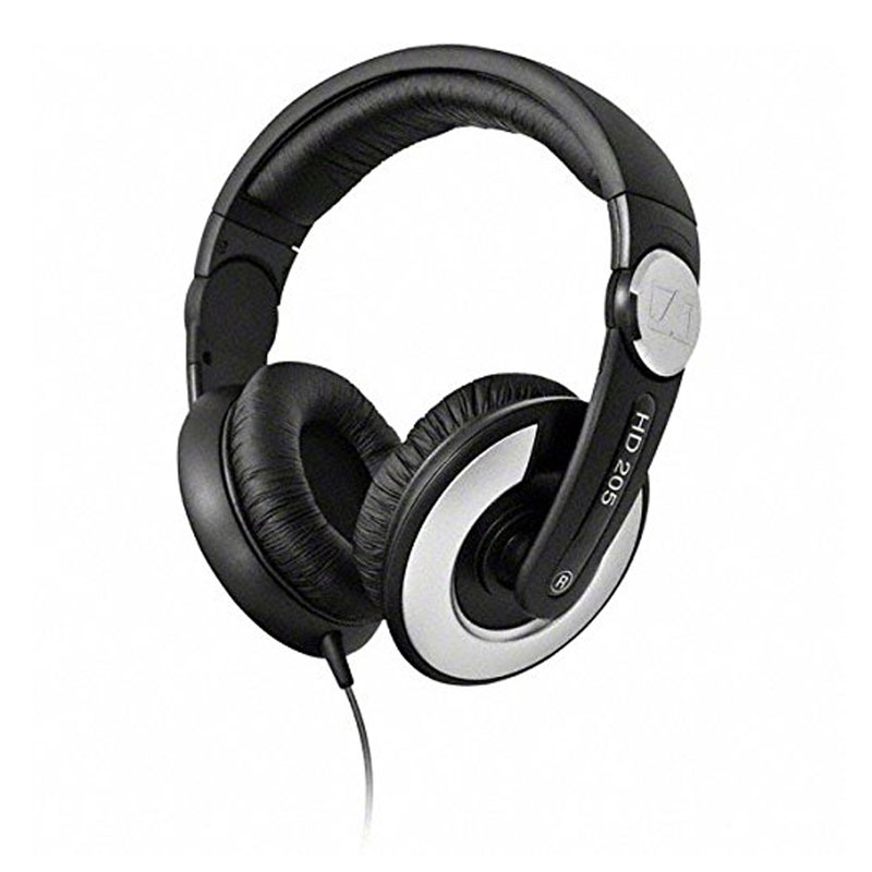 Sennheiser HD 205 II Closed Back Around Headphone