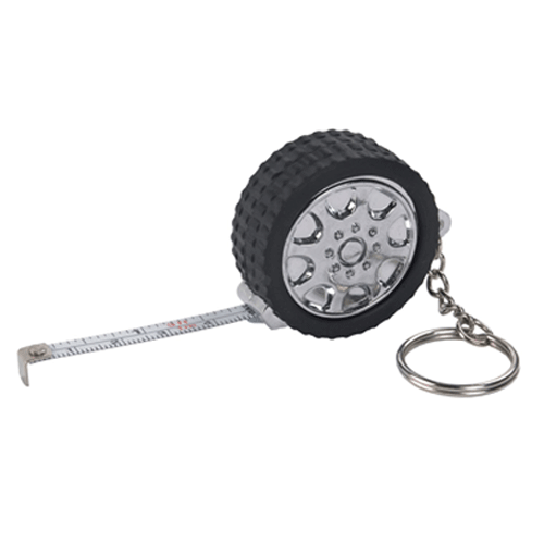 Tyre Tape Measure Keychain