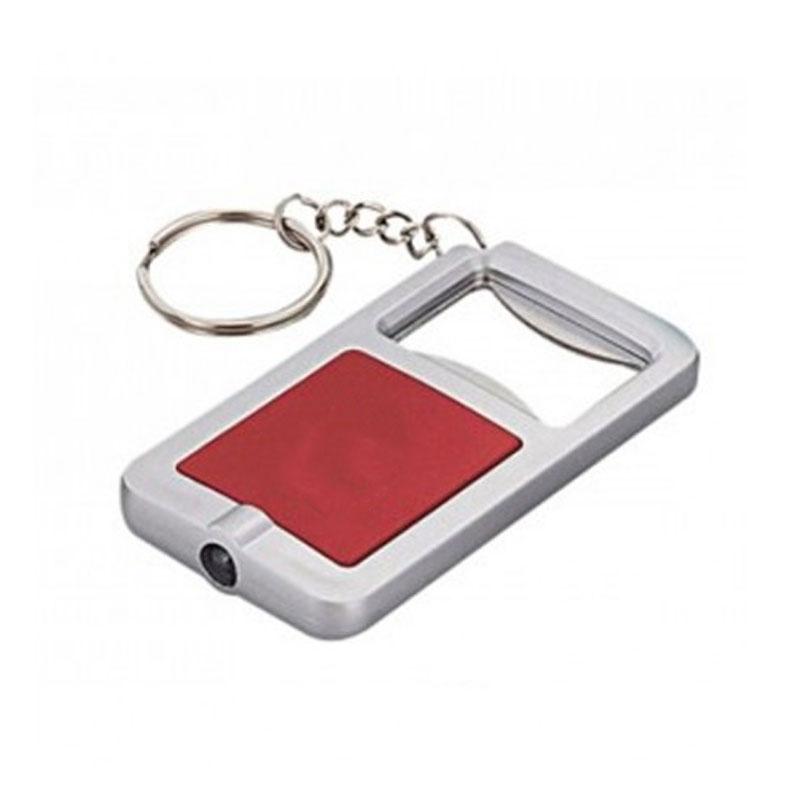 3 in 1 keychain with LED light and Bottle Opener