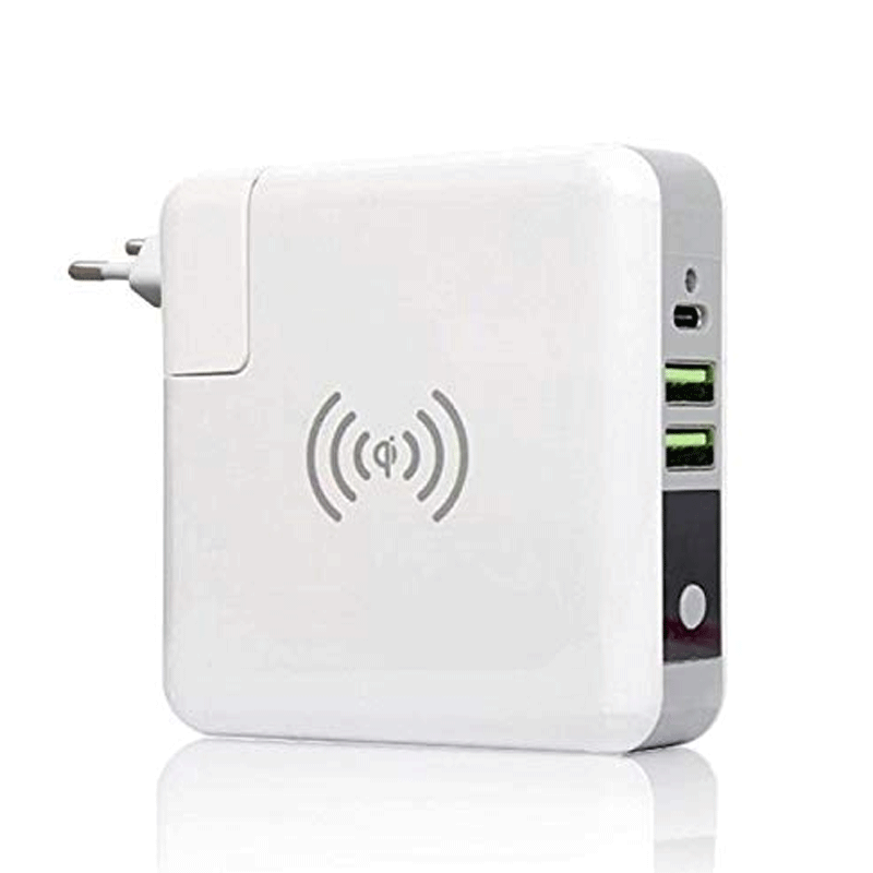Wireless Power Bank Travel Charger Adapter 6700 mAh