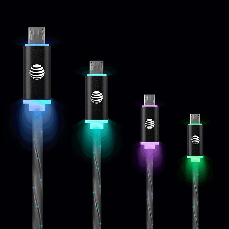 Glowing Charge & Sync Cable Mirco USB