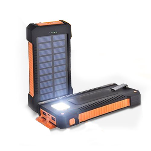 10000mAh Solar Power Bank Charger