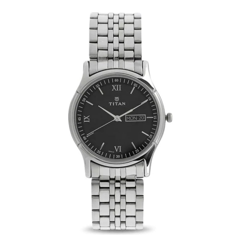 Titan Karishma - Analog Black Dial Men's Wrist Watch