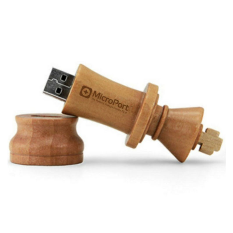 Wooden King Pendrive