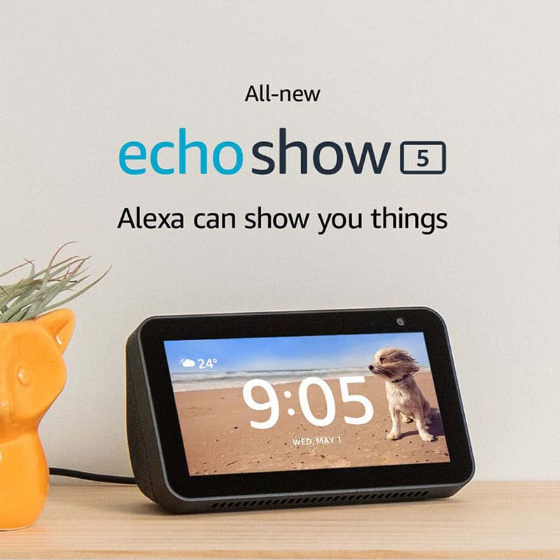Echo Show 5 - See and do more with Alexa
