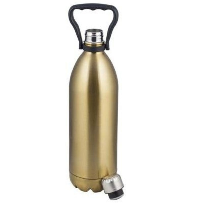 Aqua Stainless Steel Flask