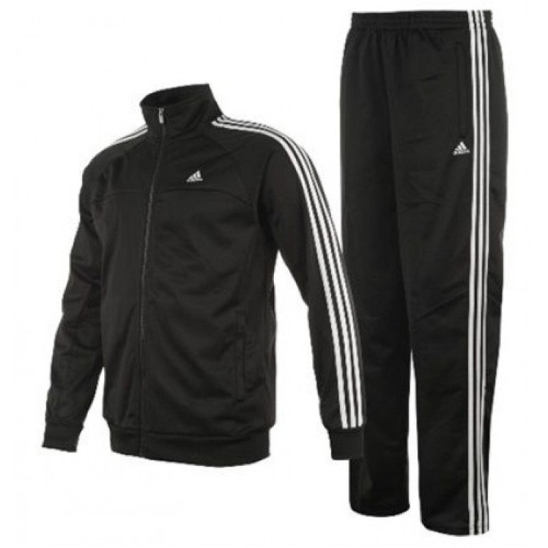 Adidas Tracksuit Black and White B47003