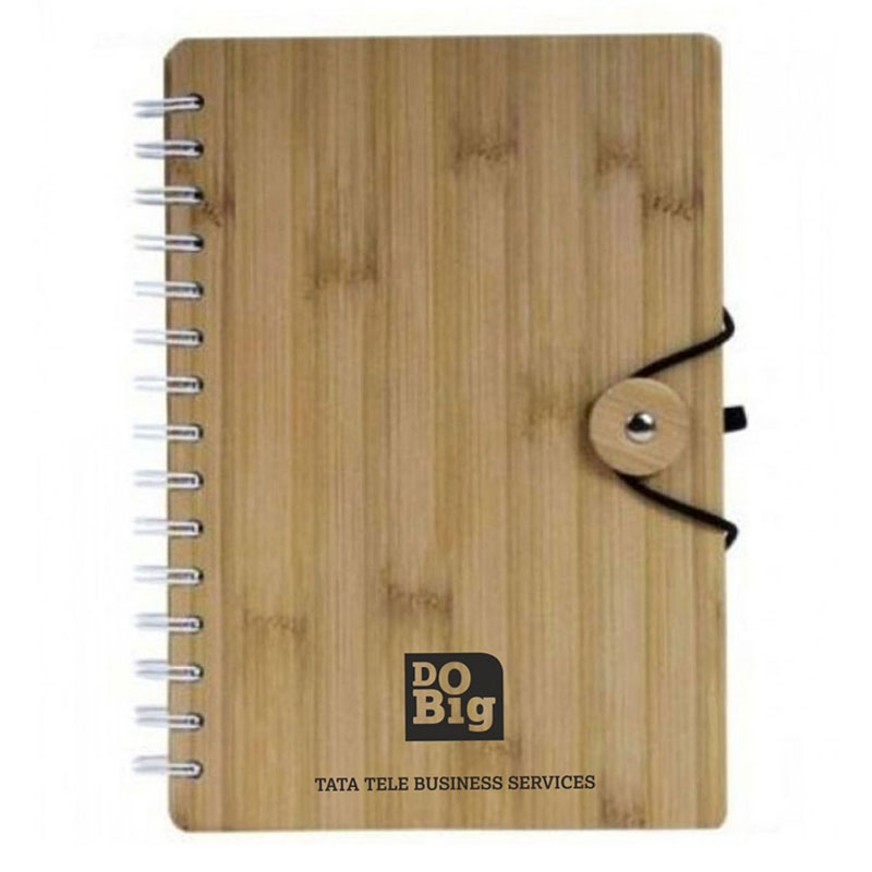 Bamboo Spiral Diary