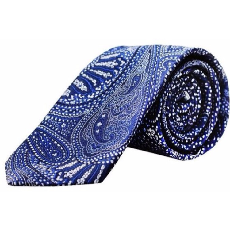 Blackberry Blue Designer Tie