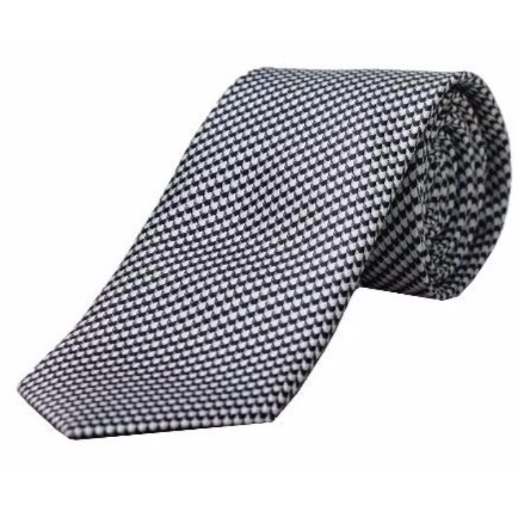 Blackberry Grey Designer Tie