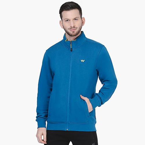 Blue Men Sweat Shirt