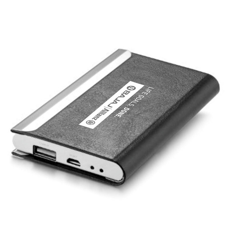 Card holder With 5000 mAh Power Bank