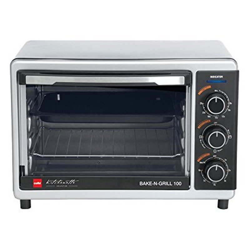 Cello Bake N Grill 100 1000-Watt Oven Toaster Griller