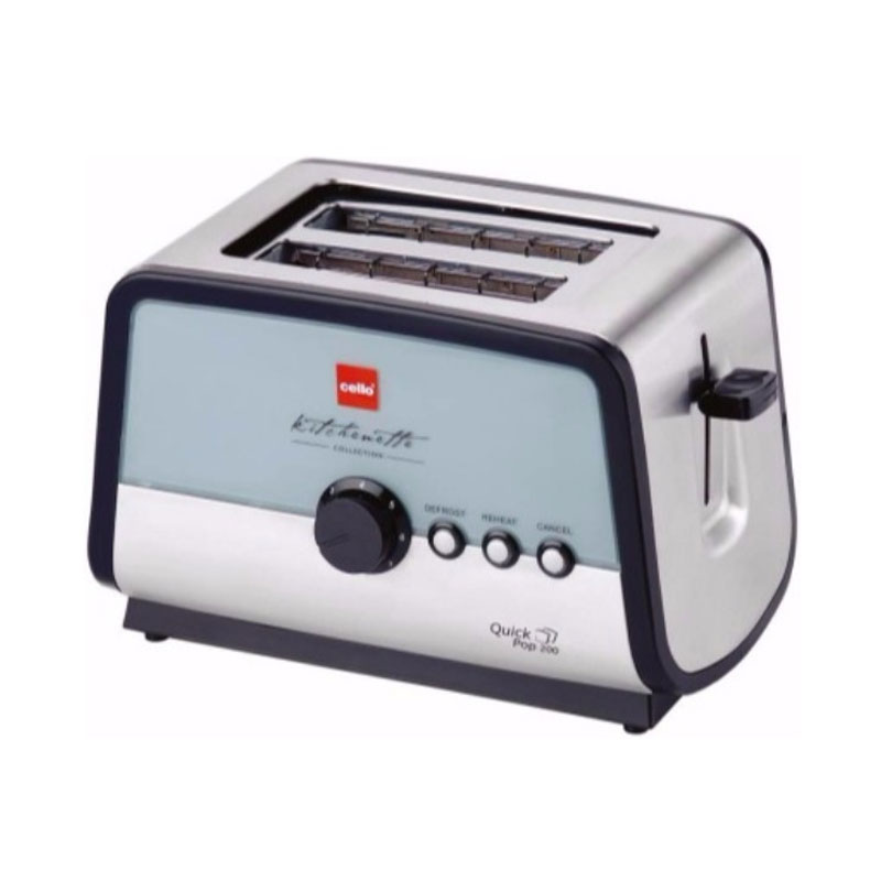 Cello Quick200 850 W Pop Up Toaster