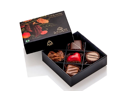 Luxury Couverture Chocolates- Box of 5
