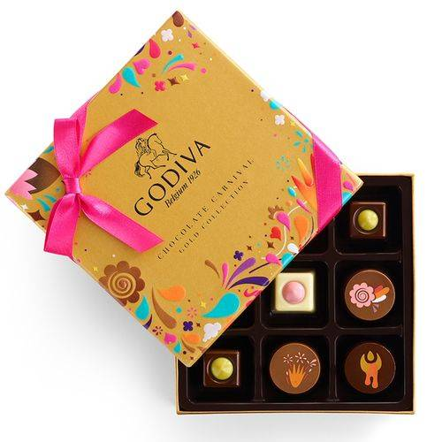 Chocolate Festival Gold Gift Box