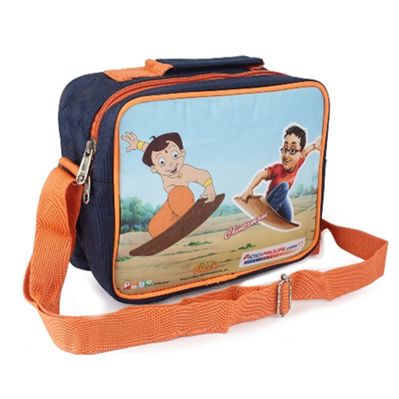 Chota Bheem Side Cross Backpack