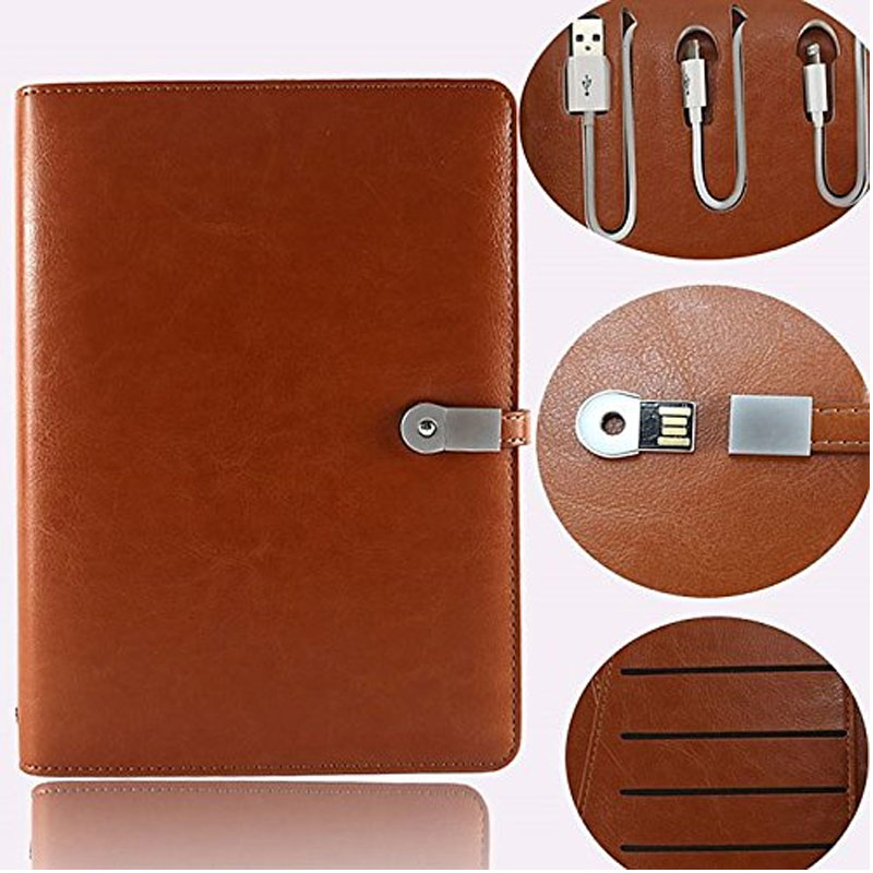 Diary Power Bank & USB