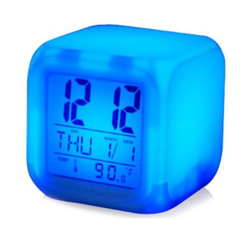 Dice Colour Changing Clock