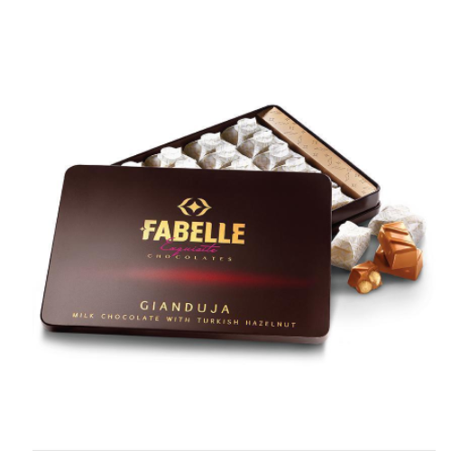 Fabelle Milk Gianduja - Pack of 24 Cubes