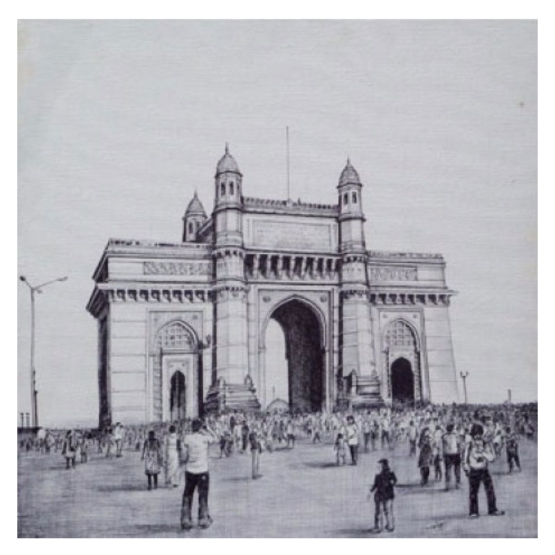 Gateway of India Painting