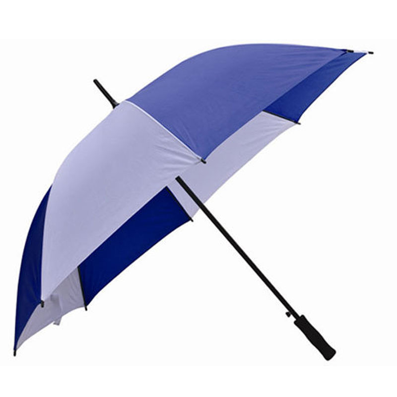 Golf Fiber Handle Auto Open Umbrella