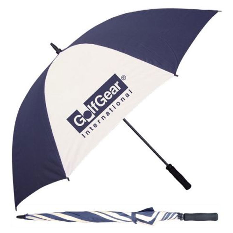 Golf Fiber Handle Manual Open Umbrella