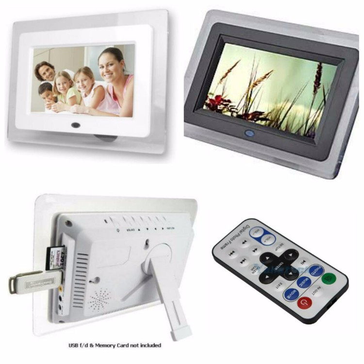 Digital Photo Frame - White