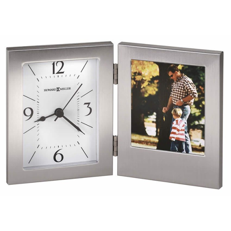 Stylish Photo Frame with Clock
