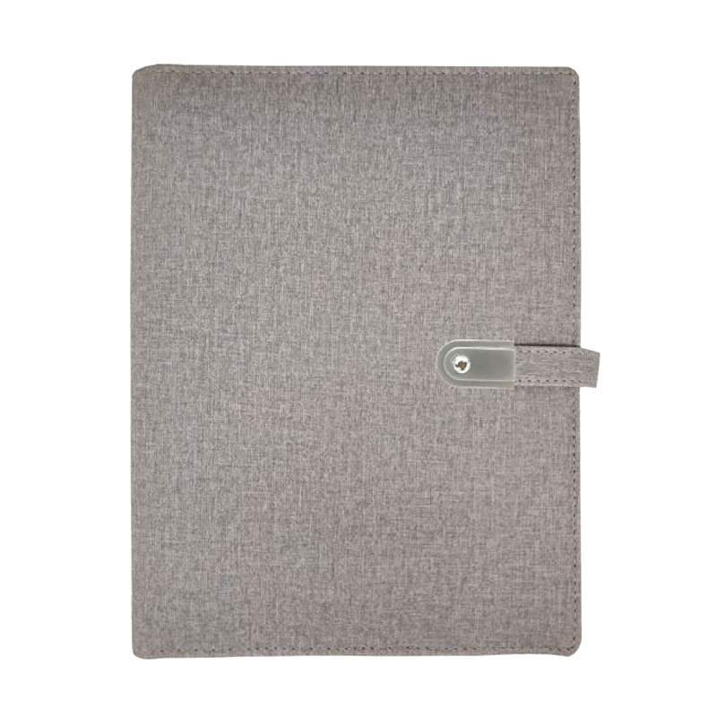 Jute Power Bank Diary with Pen Drive