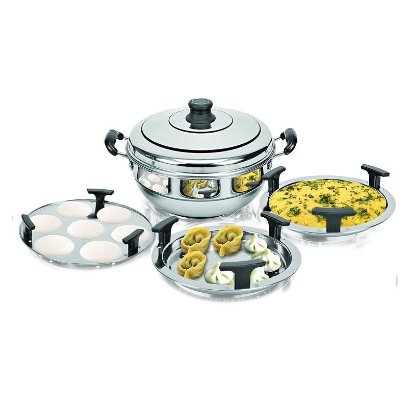 Kitchen Induction Steamer Cooker Kadai