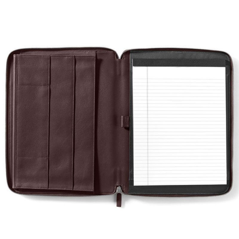 Leather Executive File Folder