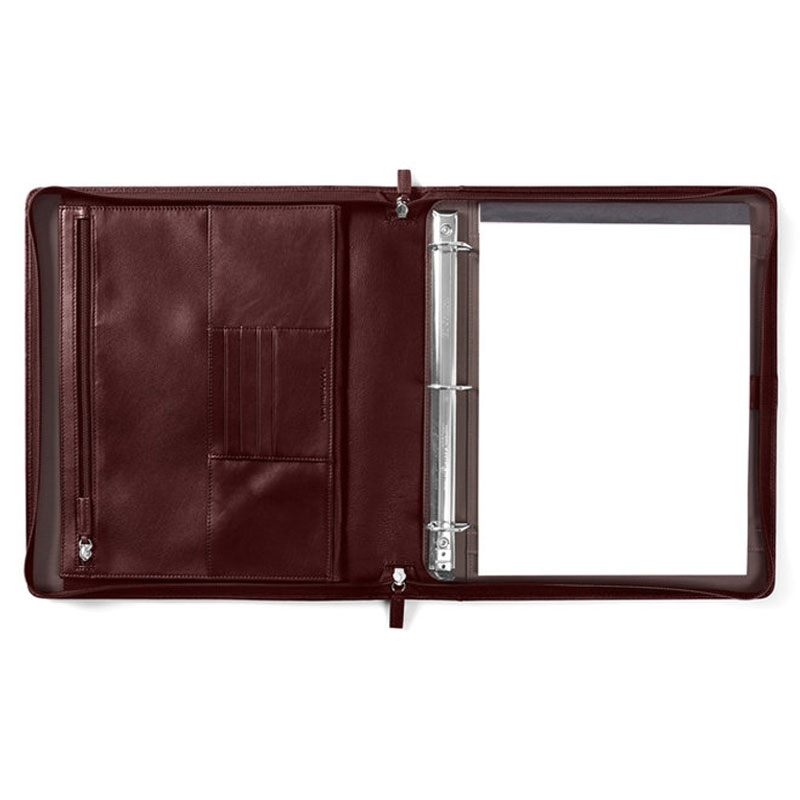 Leather Notepad Holder & Ring Binder