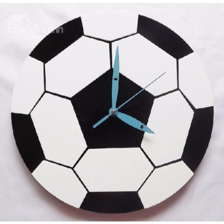 MDF Football Wall Clock