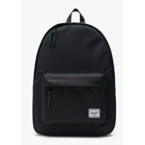 Black Canvas Bagpack