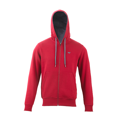 Men Zippered Hoodie