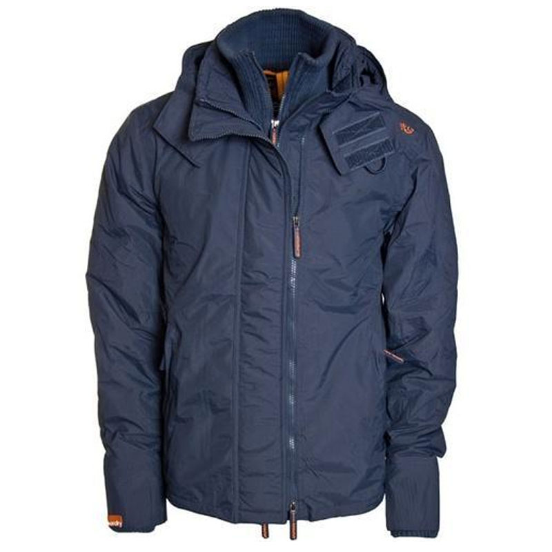 Mens Blue Windcheater