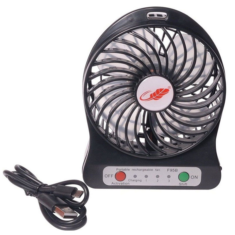 Mini Portable USB Desk Fan