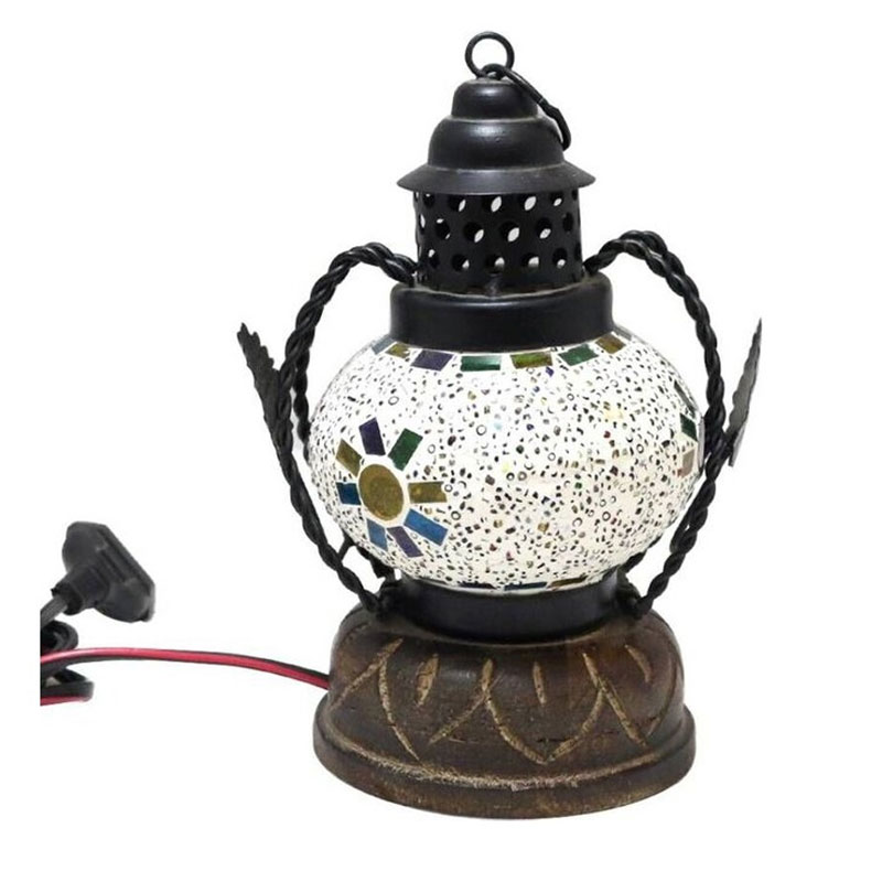Mosaic Lamp or Hanging Lantern